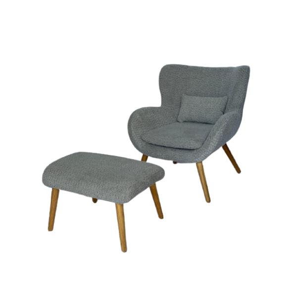 כורסא מאיה + הדום