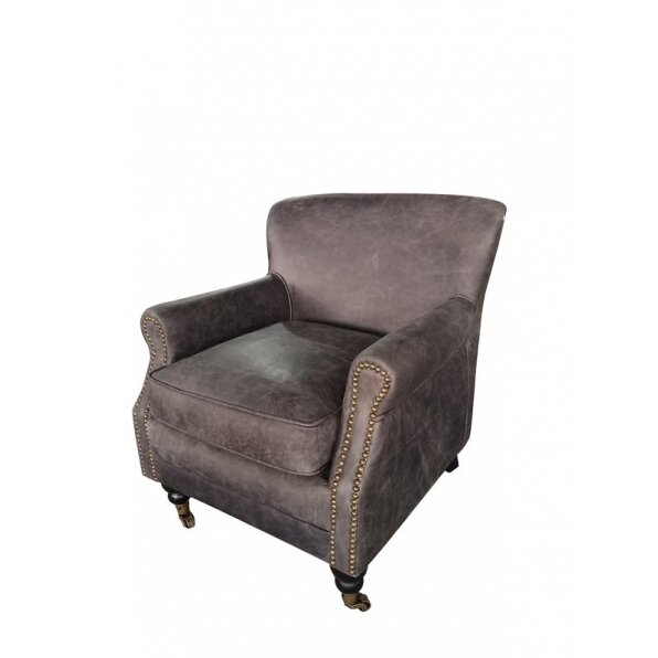 כורסא עור וינטג' 701