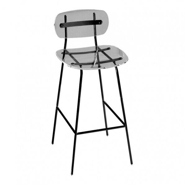 כסא בר ליסה שחור