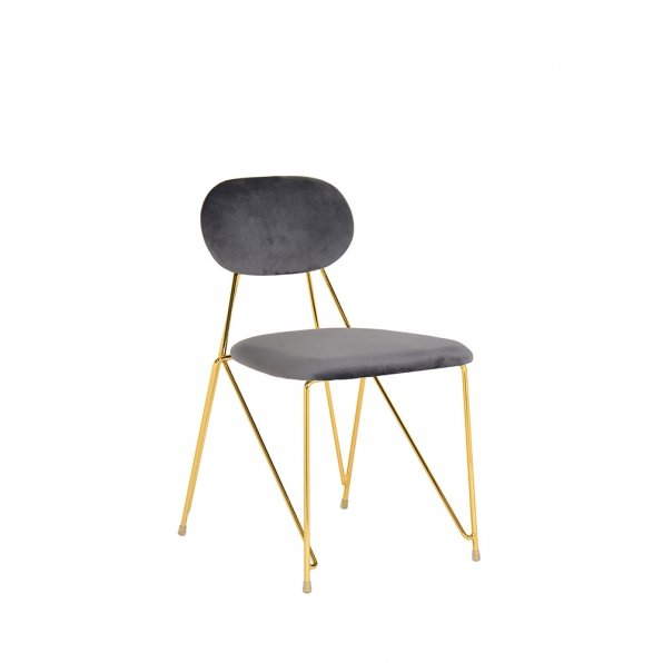 כסא אליס זהב