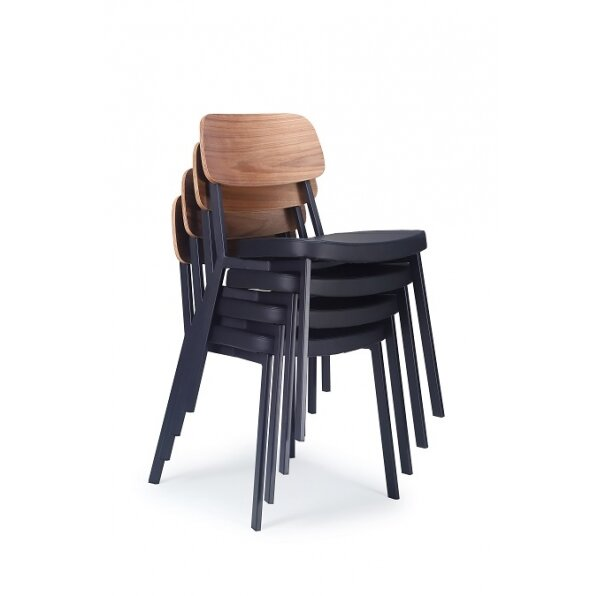 כסא אוכל לופט אגוז