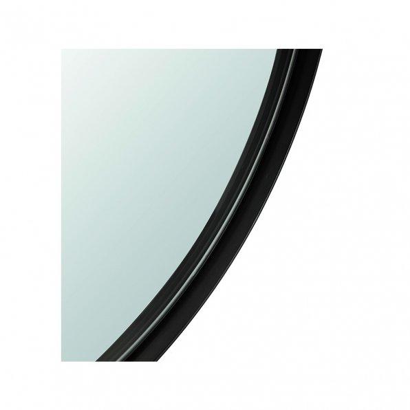 מראה שחור עגול לקצ'רי