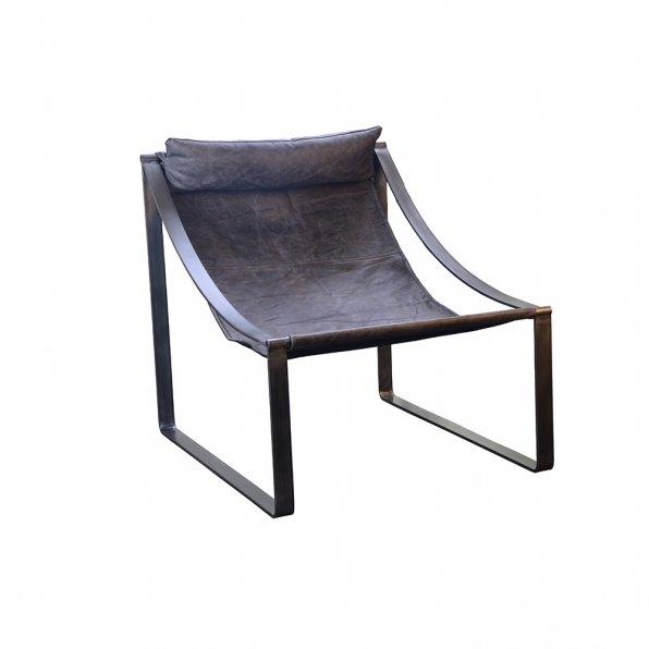 כורסא עור ברזל