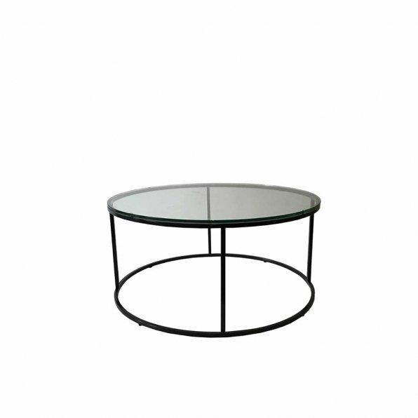 שולחן קפה פלטה זכוכית