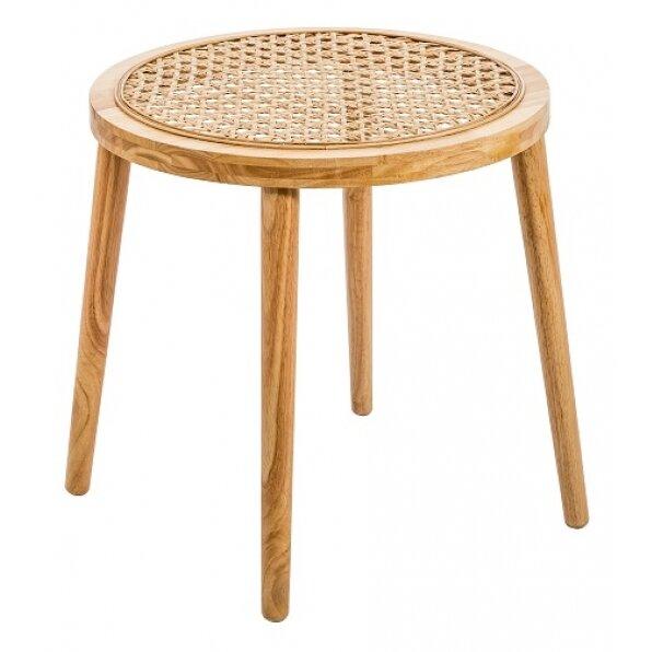 שולחן צד ראטן
