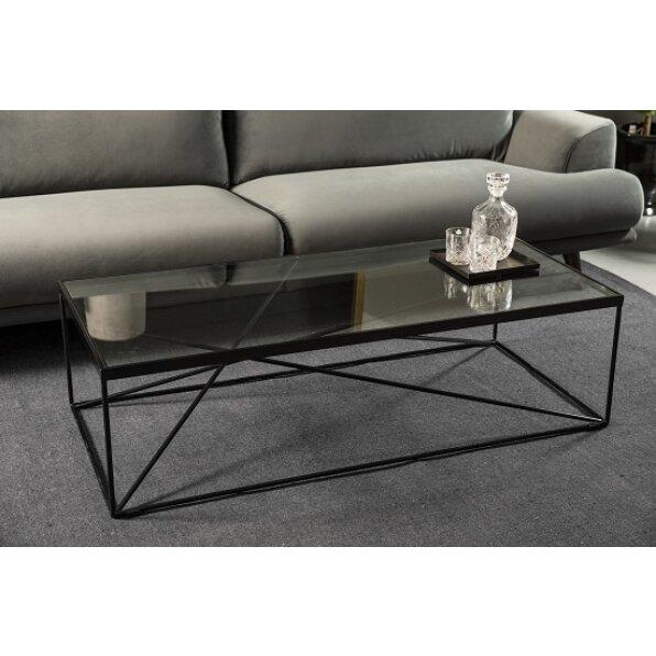 שולחן קפה מלבן גאומטרי