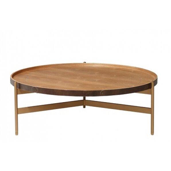שולחן קפה ליבנה טבעי
