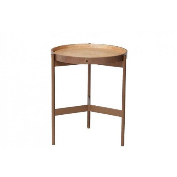 שולחן קפה צד ליבנה ענתיק