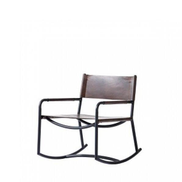 כסא עור נדנדה 19