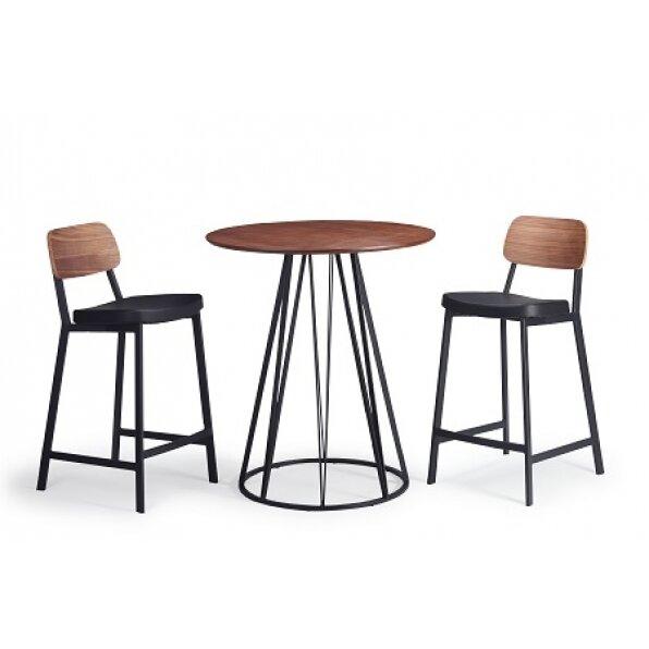 שולחן בר לופט אגוז