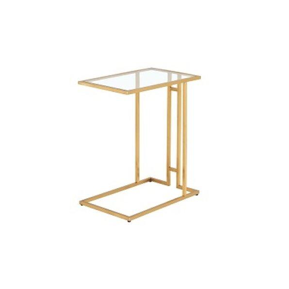 שולחן נשכן אפריל (זהב מבריק/בראס)