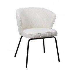 כסא אוכל לאורה בוקלה לבן