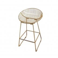 כסא בר זהב