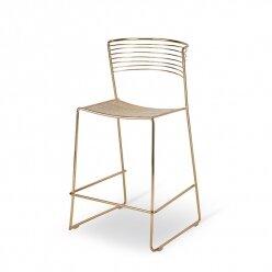 כסא בר מתכת מגי מעוגל פסים