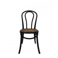 כסא ראטן דייזי שחור