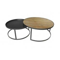 סט שולחן קפה רוי מידה 90.38 ו 70.34 50105978048