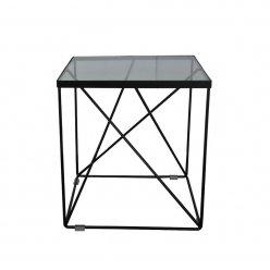 שולחן צד שחור