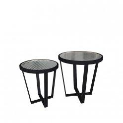 שולחן קפה פיליפ סט 2 מידה 45.50 ומידה 40.45