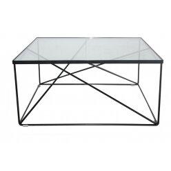 12105816021170 שולחן קפה מרובע 70 שחור