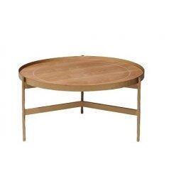 12107401822 - שולחן קפה ליבנה טבעי  40.87 ר.בראס