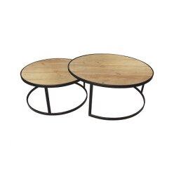 501059789911 - סט 2 שולחן קפה וונדי