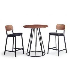 501069957 - שולחן בר לופט אגוז 80.90