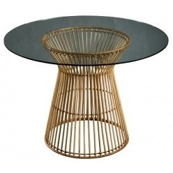 5010739900 - שולחן אוכל וויקר ראטן טבעי  110.75