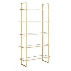 501076004 - ספרייה בקי זהב מבריק  100.35.200