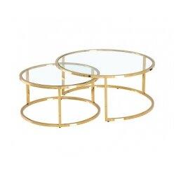 5010761311 - סט 2 שולחן קפה סוזן בראס 90.40 70.35