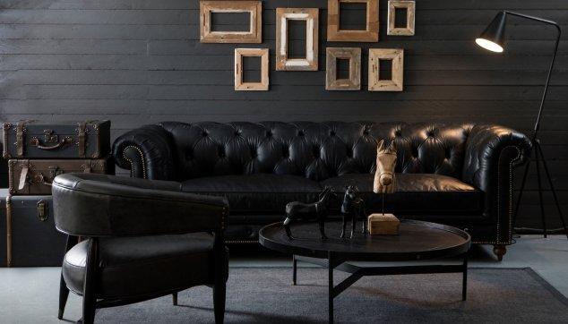 ספה שחורה