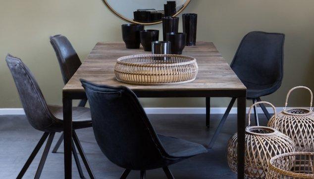 שולחן עץ למטבח